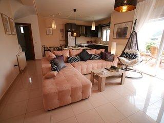 Villa Kyriaki Summer Resort 200m from the sandy beach