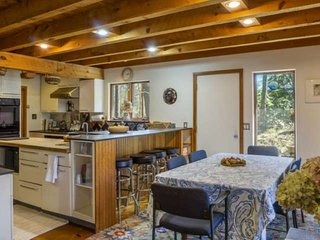 New to Market Oversized Waterfront Home with private beach dock sleeps 20 8 beds