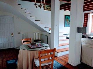 Casa independiente con jardín entre los Picos de Europa y el Mar Cantábrico
