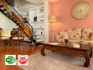 Duplex luxury apartment, free garage, terrace