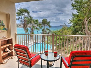 New! Ocean View Saint Thomas Condo, Walk to Beach!