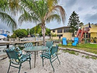NEW-Treasure Island Condo w/BBQ, Steps to Beach!