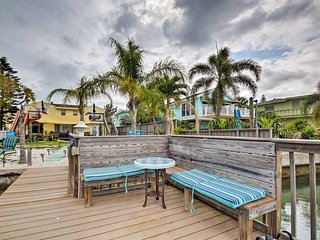 NEW-Treasure Island Condo w/BBQ, Steps to Beach!