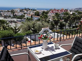Nerja Casa Lestia sun coast apartment with seaview,Nerja many weeks free to book
