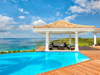 Villa Happy Bay | Beach View - Located in Stunning Happy Bay with Private Pool