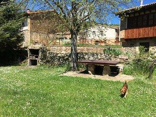 Casa rural típica montañesa para 12 personas en Cantabria