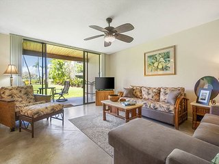 KKSR7102 GROUND FLOOR, GARDEN & GOLF VIEWS, AIR CONDITIONING, 'HONU HALE'