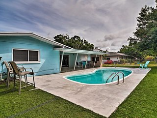 NEW! Sarasota Home w/Large Backyard & Water Access