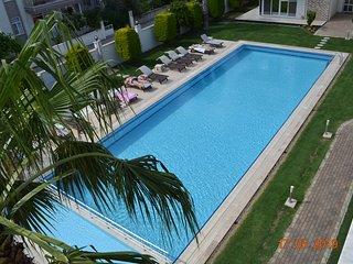 elegant pool view dublex apartment