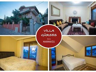 Villa Gurses Marmaris Daily Weekly Rentals