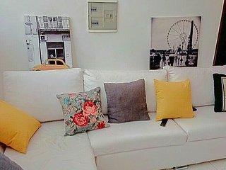 Appartement 2 chambres salon meublé