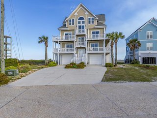 New River Inlet Rd 764 Oceanfront! | Private Heated Pool, Hot Tub, Elevator, Jac