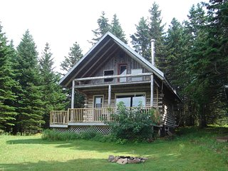 Big Hill Retreat - secluded Log Chalet