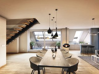 cosy grey apartment 'luxury'