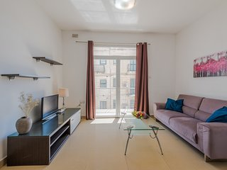 4064. SAINT JULIAN'S 2 BEDROOM FLAT WITH BALCONIES BY SPINOLA BAY