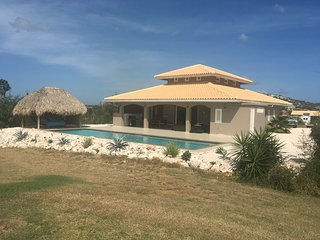 Beautiful villa on Blue Bay with private swimming pool.