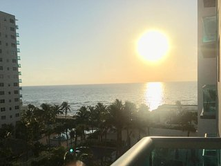 The Sunrise from the Balcony