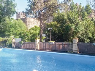 Beautiful home in El Coronil w/ Outdoor swimming pool, WiFi and Outdoor swimming