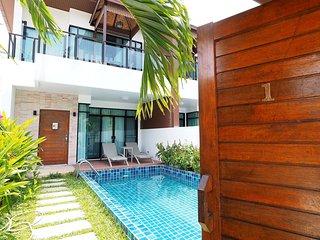 AP West 1 - Private pool villa in quiet Kamala