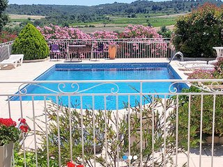 South France villa with private pool St Pons de Mauchiens