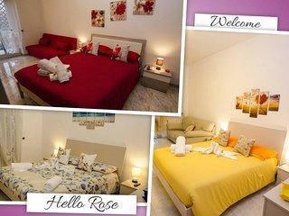Hello Rose - Appartamento Intero (3 stanze - fino a 8 persone)