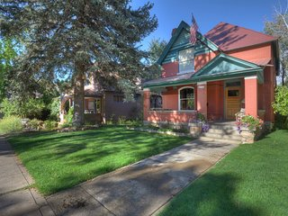 Experience Victorian Era Luxury Home in Durango`s Historic Dwontown Residential