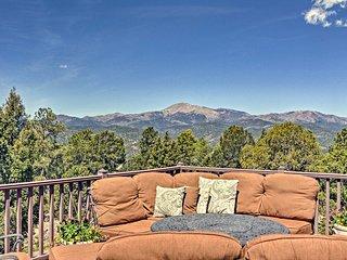 NEW! Large Ruidoso Home w/Stunning Views & Hot Tub