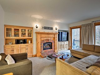 Ski-In Resort Family Condo w/ Deck at Jay Peak!