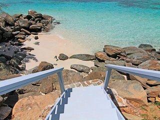 Villa Eau Claire-Magens Bay Affordable Beachfront Villa