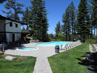 Pine Hill Heavenly Ski Cabin Common Summer Pool