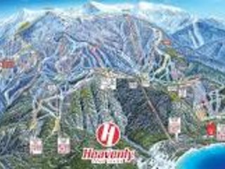 A minutos de Heavenly Mountain Resort esquiando