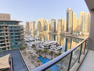 1BR With Direct Elevator To Marina Walk
