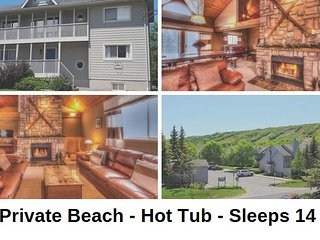 Fantastic 5 Bed Blue Mountain Chalet Sleeps 14 - Amazing Views of Blue Mountain