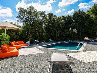 VILLA LUMA, piscine chauffée