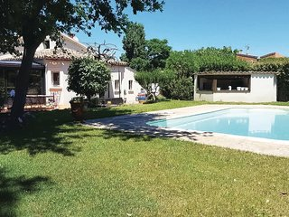 Awesome home in Caux w/ Outdoor swimming pool, WiFi and 4 Bedrooms (FLH451)