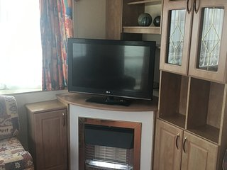 6 berth static caravan for holiday rental