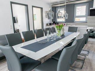 Gruppenurlaub für 10 Personen mit eigenen Schlafzimmern/Bädern - in Bensheim