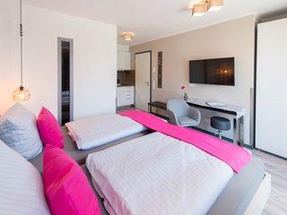 Komfort-Doppelzimmer 'Ambiente 1' - Apartmenthaus Horster in Bensheim