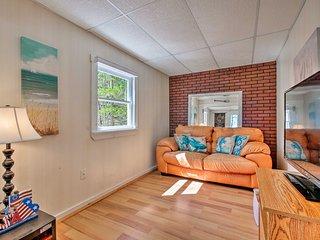 Cozy Lubec Cottage w/ Oceanfront Yard & Views