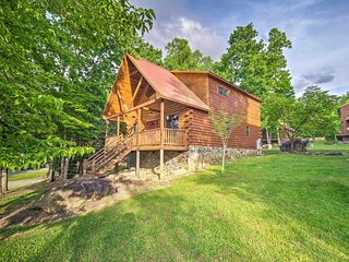 NEW! Gatlinburg Resort Cabin w/Hot Tub & Game Loft