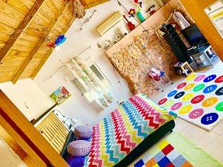 little cozy house  pool 10x5 WIFI   Ibiza