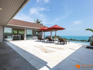 Villa Gati '3BR + Private Pool & Sea View ' Lamai