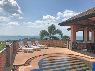 20% off! Seaview ! Private Pool -Villa Bellamonte