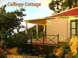 'Calliopy Cottage' - (Booby Hill, Windwardside - Saba, Dutch Caribbean)