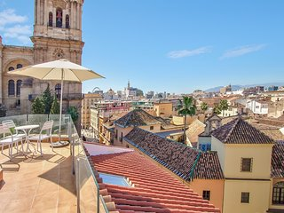 2 bedroom apartment with terrace and amazing view of the Cathedral