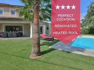 ❤️ PERFECT ❤️ With heated pool, in the heart of the Cannes country side