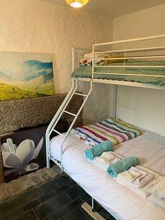 Downstairs Triple Bunk Bedroom