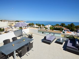 Michel Sea View Apartment Algarve WIFI/AC/150m from beach