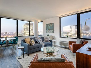 34th Fl 2BR Apartment with Amazing NYC Views