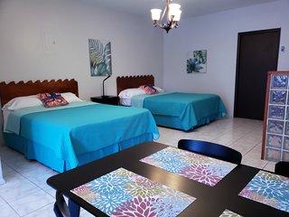 Aqua Luna Vacation Suite Rental in downtown Rincon, Puerto Rico